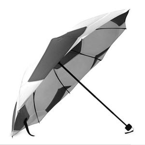 Stylish Soccer Ball Football Manual Aluminium Folding Umbrella